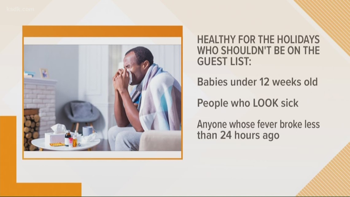 Healthy holidays: how you should really cover your cough and who to uninvite from the party