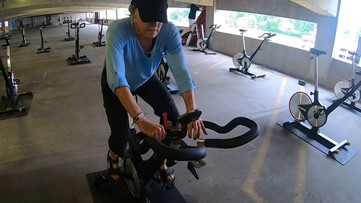 St. Louis woman finds strength in spinning after ovarian cancer diagnosis
