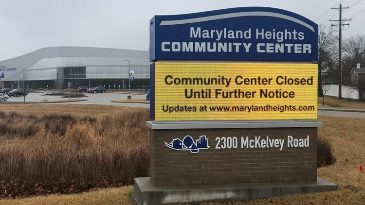 Maryland Heights Community Center closed