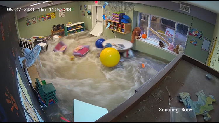 Wentzville day care continues restoration after viral flash flooding video