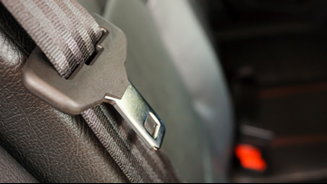 Buckle up! Police cracking down on people not using seat belts