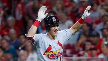 Cards ride Edman's grand slam, big night from DeJong 