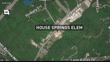 House Springs Elementary released from lockdown after police find suspect near school
