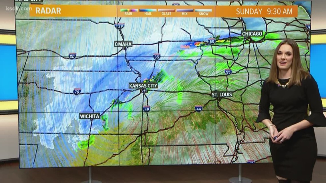 Ksdk Weather Map.Sunday Morning Weather Forecast Ksdk Com