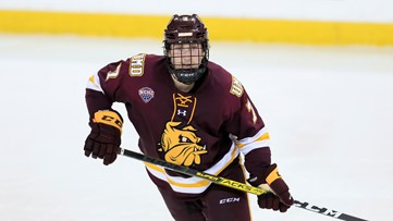 Blues sign 2018 second round draft pick Scott Perunovich to entry level deal