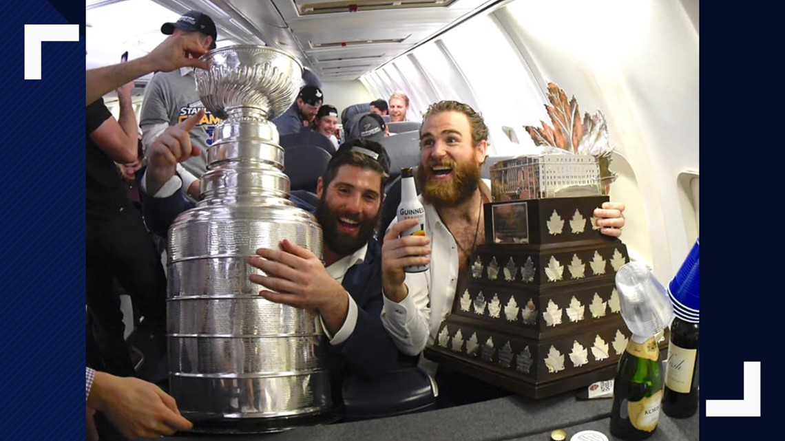 The Stanley Cup and the Blues are on their way to St. Louis