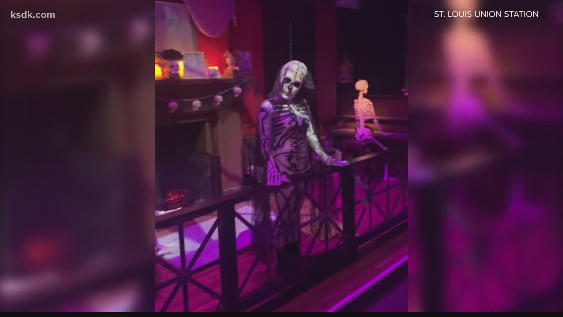 St Louis County Parks Halloween 2020 Union Station holding Halloween experience in 2020 | ksdk.com
