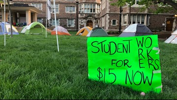 Wash U student workers, faculty members fighting for higher wages