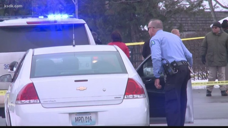 Carjacking suspect fatally shot by 4 officers after he shot at them in the parking lot of a north St. Louis Schnucks