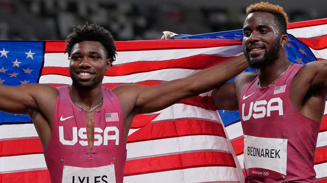 Bednarek, Lyles talk 200m medals, issues with USA relay team