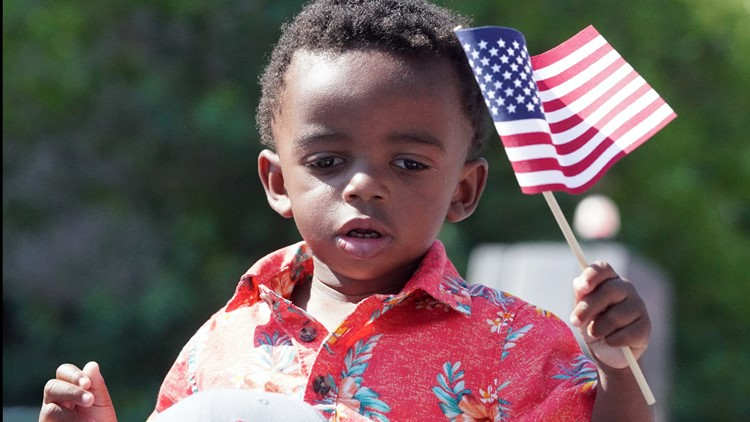 America's Birthday celebrated all around the St. Louis area
