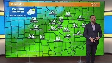 Monday 7:30am Anthony Web Weather