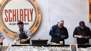 There will be St. Louis-flavored inspired stouts at Schlafly's annual Stout and Oyster Festival