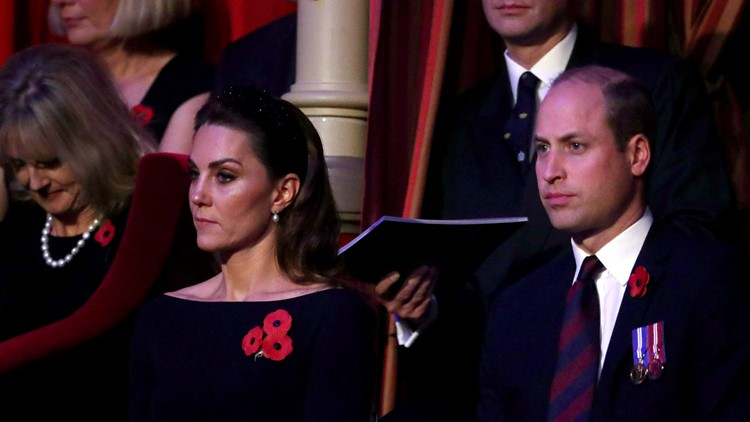 Britain Royals Remembrance