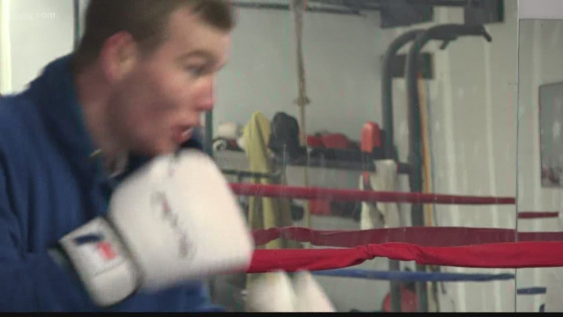 Local boxer fighting way to Olympic Trials