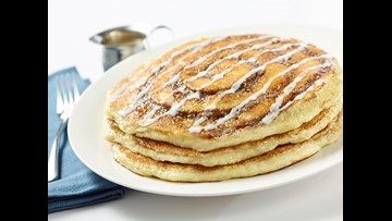Recipe of the Day: Cinnamon Roll Pancakes