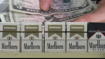 Verify: Pay cash to avoid cigarette tax?