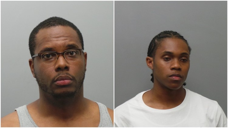 Mugshots of Themon Ryan and Rayshaun McDonald