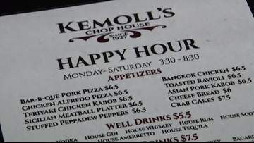 This spot has a 5-hour long happy hour