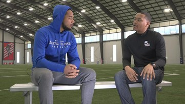Full interview: Kenny Robinson ready to make jump from XFL to NFL
