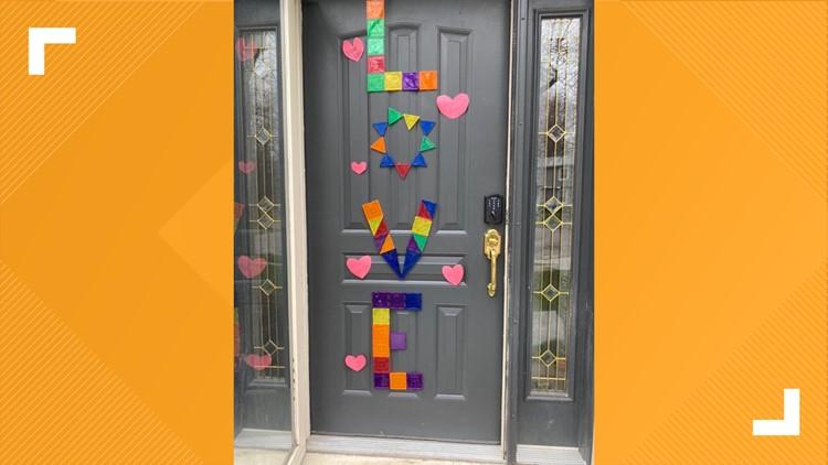 show me kindness front door