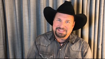'Stay strong': Garth Brooks sends video message to St. Charles fan fighting cancer