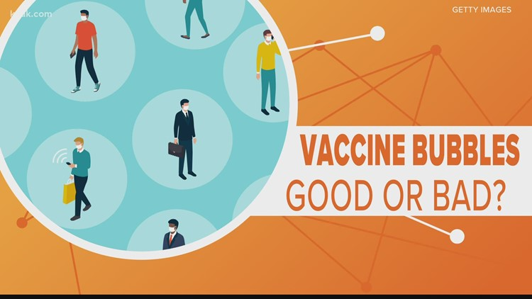 Have you heard of vaccine bubbles?