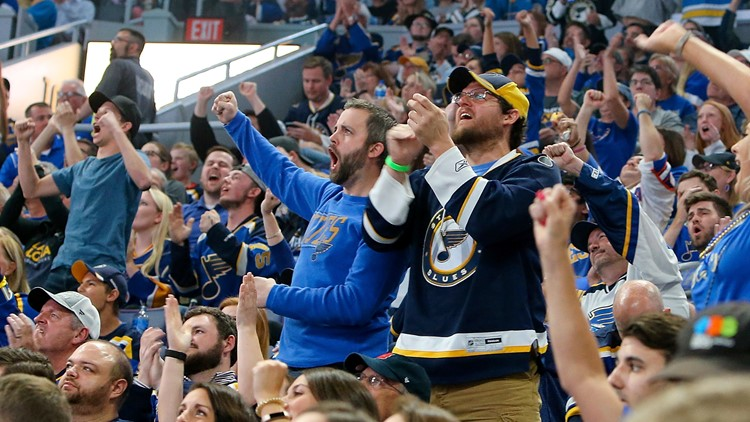 Blues: Fans need proof of vaccination or negative test results for home games