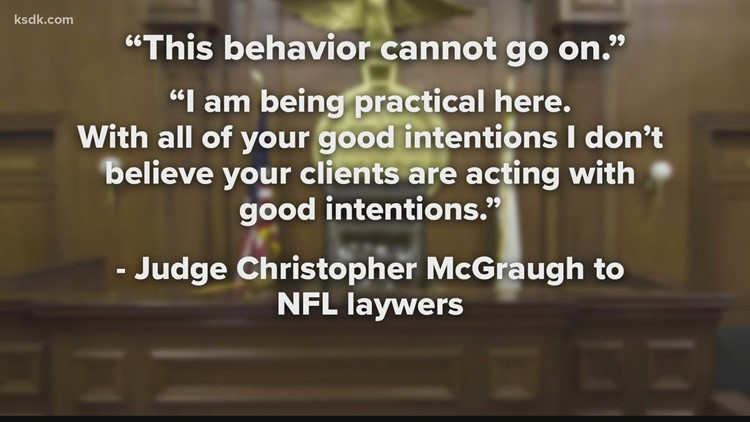St. Louis judges fines 4 NFL owners for not releasing financial documents