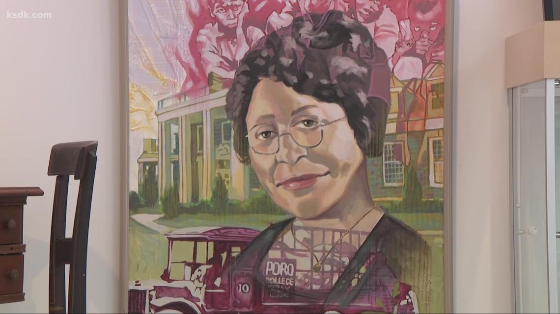 'Moving Forward: Exploring the Legacy of Annie Malone' exhibit on display at Field House Museum