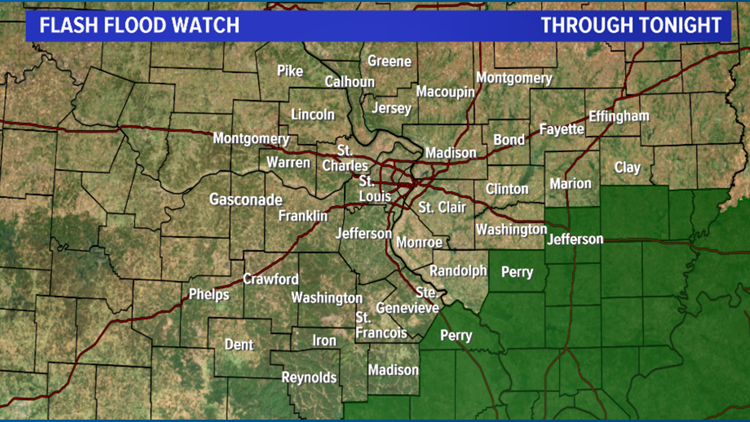 Flash flood watch Feb. 12