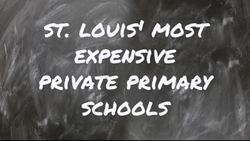 St. Louis' most expensive private primary schools
