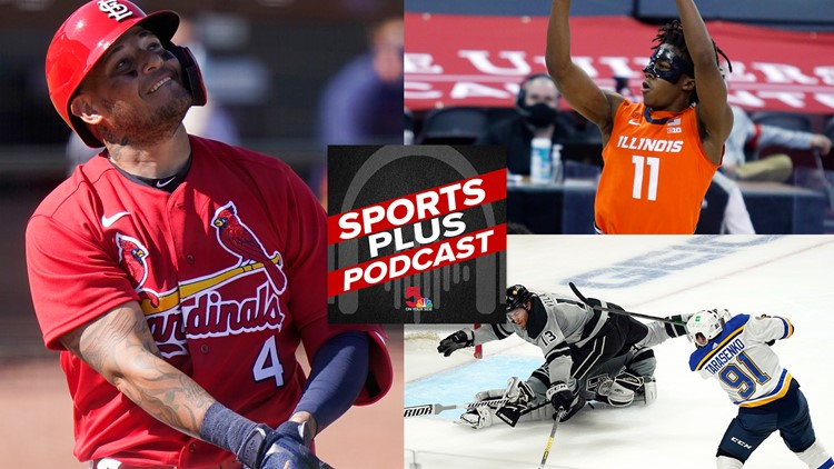 Sports Plus Podcast: Don't taunt Yadi, Tarasenko returns and March Madness gets underway