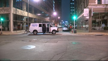 Man shot, woman carjacked in downtown St. Louis around same time Wednesday evening