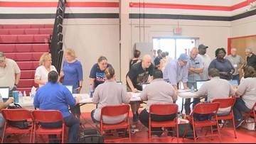 Event packs gymnasium to help Granite City flash flooding victims
