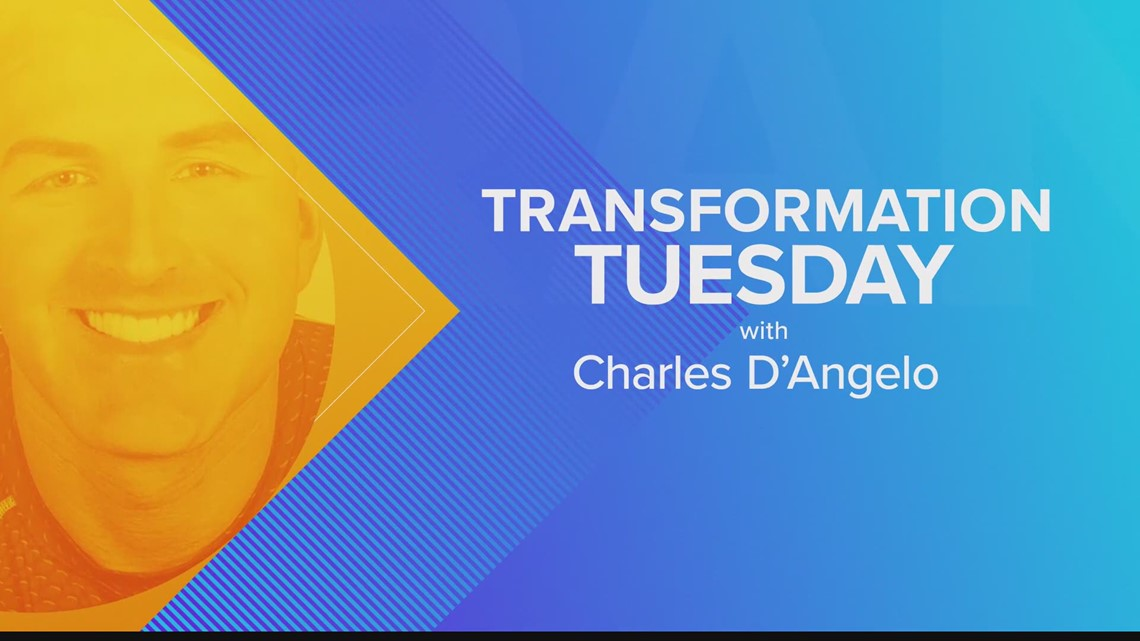 Transformation Tuesday with Charles D'Angelo