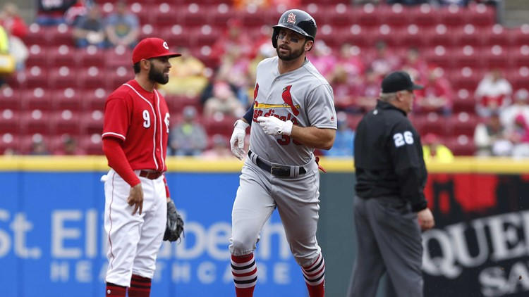 Cardinals Win Second Straight over Reds, Back to .500 Mark