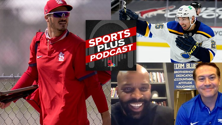 Sports Plus Podcast: Who fills out the Cardinals rotation, best and worst STL uniforms of all-time and a special Mizzou/SLU crossover