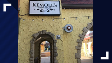 Kemoll's Chop House opens on Tuesday in Westport Plaza