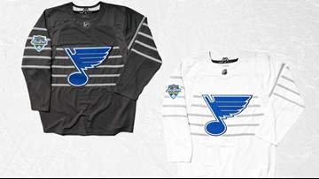 NHL All-Star jerseys inspired by St. Louis Blues and city's history
