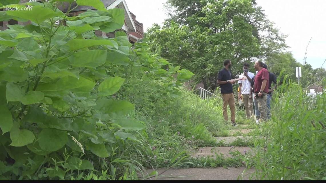 Groups work to rebuild north St. Louis neighborhood