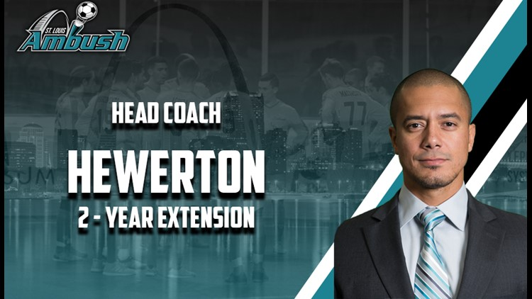 Hewerton was a player-coach for the Ambush last season.