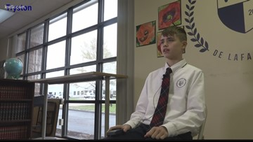 St. Louis students honor the anniversary of the Gettysburg Address