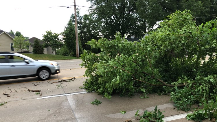 St. Louis, St. Charles Co. residents spend Father's Day cleaning up storm damage