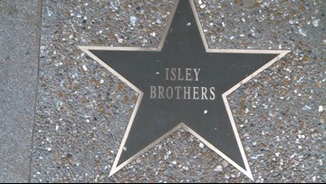 Decades of hits lead to star on St. Louis Walk of Fame for the Isley Brothers