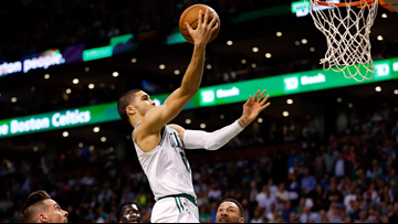 Jayson Tatum's jersey was one of the best-selling this season