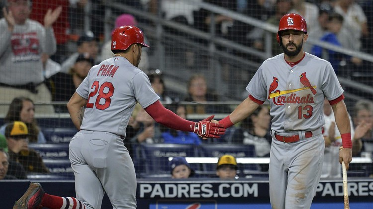 Padres fall short 2-1 in series opener against Cardinals