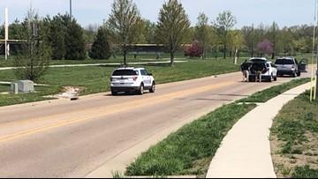 Police activity near Family Sports Park in O'Fallon, Illinois