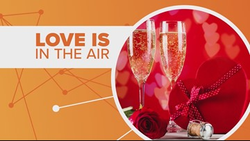 Connect the Dots: Valentine's Day spending