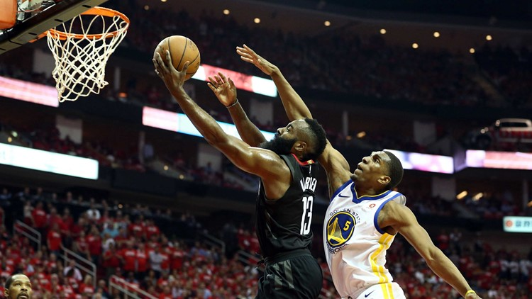 NBA PLAYOFFS Rockets edge Warriors, lead 3-2
